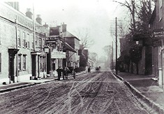 Centre of Redbourn High Street