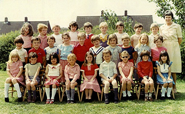 Infants School Class 1980 | Geoff Webb