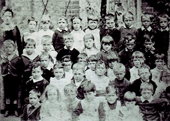 Infant School Class c1891 | Geoff Webb
