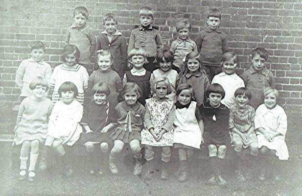 Infants School 1929 | Geoff Webb