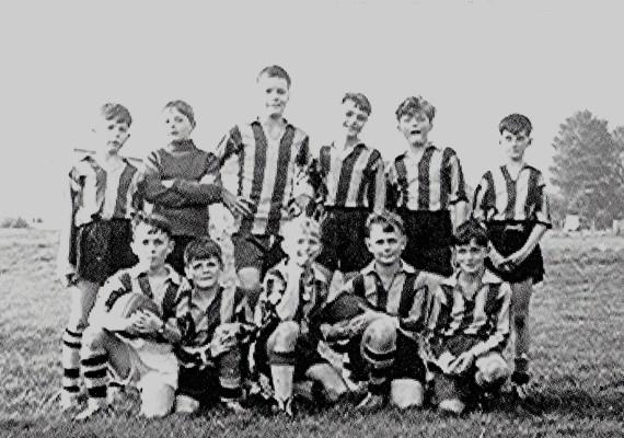 Rebourne Junior Football Club Team c.1963 | Geoff Webb