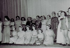 Junior School play,Dec. 1955