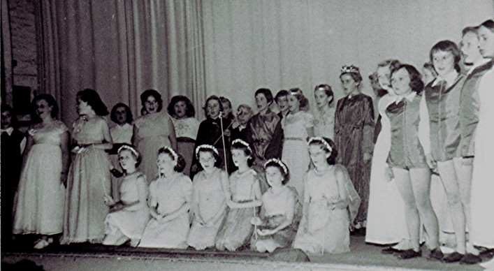 Junior School play,Dec. 1955 | Geoff Webb