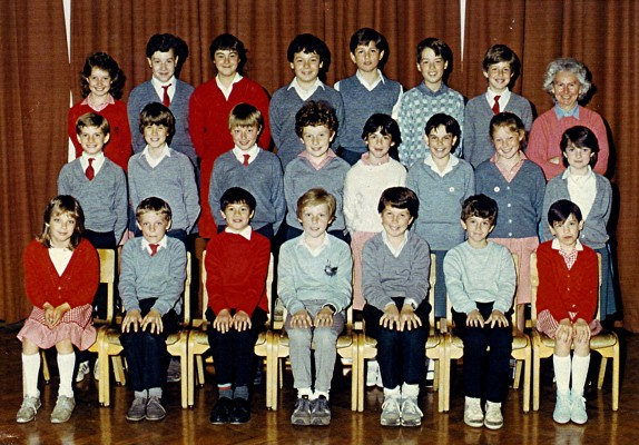 Junior School Class 1985 | Geoff Webb