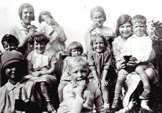 Methodist Church childrens' picnic