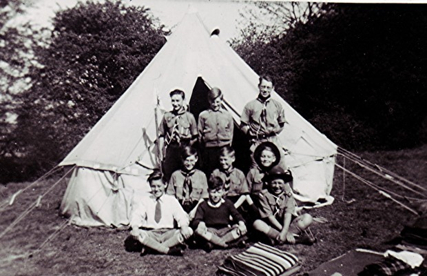 Scouts from Redbourn go to camp at Lyme Regis   Geoff Webb