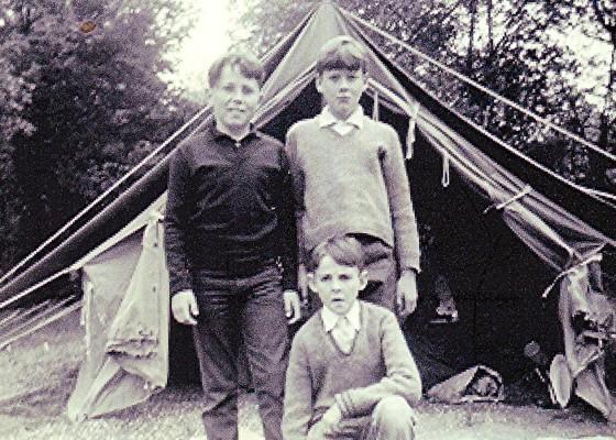 Scouting pals | Geoff Webb
