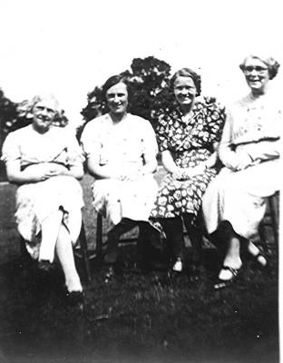 Infants & Girls School Teachers c.1941 | Geoff Webb