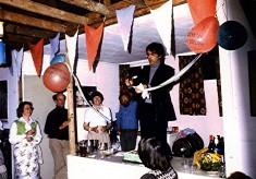 Opening New Clubhouse at Tennis Club, 1978