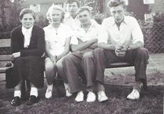 Tennis Club Friends, c.1950