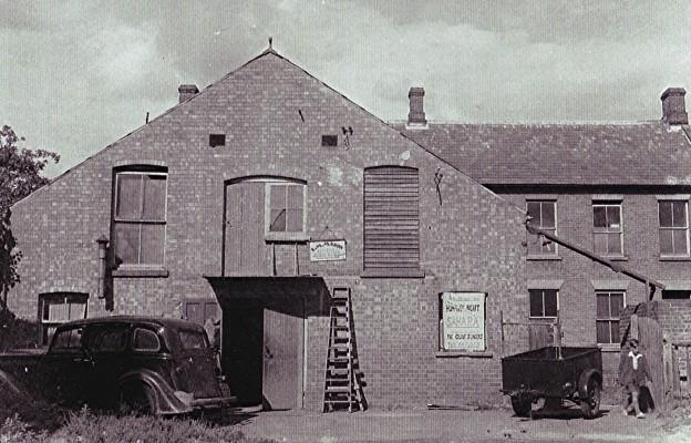 Village hall   Geoff Webb