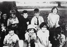 Children in The Avenue
