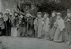 Girls School children