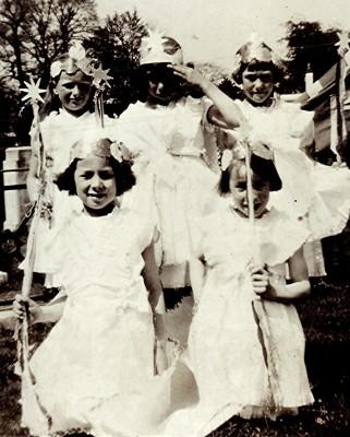 Schoolgirls, c. 1934   Geoff Webb