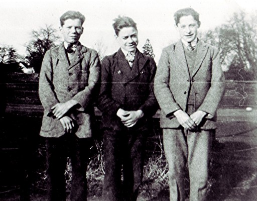 Three Redbourn lads | Geoff Webb