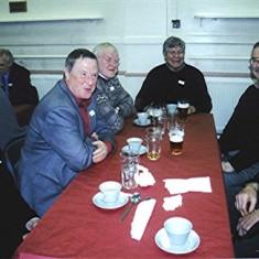 Left to right: Colin and Ron Crittenden, Alec Reek, John Sears, David Wilson, James Millars. | Geoff Webb