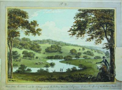 Panshanger, 1799 [DE/P/P21]   Hertfordshire Archives and Local Studies