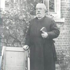 Canon H. Jephson, Rector, Ayot St Peter 1872-1911 (photo c.1910) | Hertfordshire Archives & Local Studies