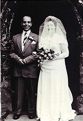 Geraldine Blain with her step-father Fred Richards | Geoff Webb