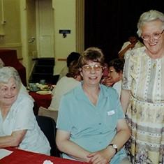 Left to right: Nita Riley, Gillian Palmer and Betty Winch. | Geoff Webb