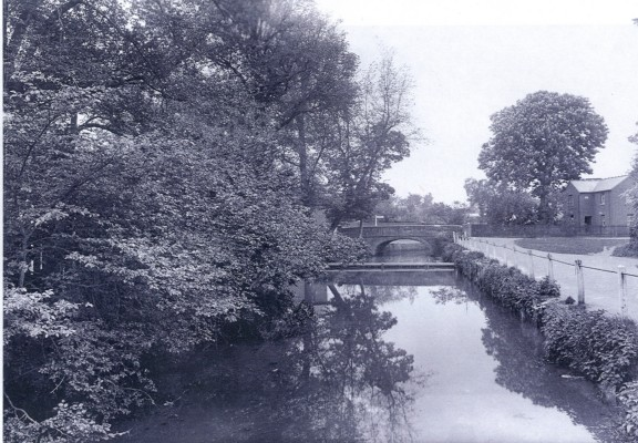 River Green - Bridge over the River Rib | Hertfordshire Archives & Local Studies