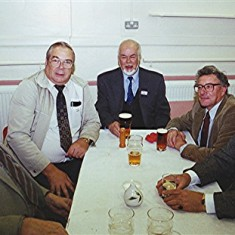 Left to right: Richard Robertson, Mick and John Ward, John Boden and Dennis Ward | Geoff Webb