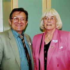 Roger May and Alice Robertson | Geoff Webb