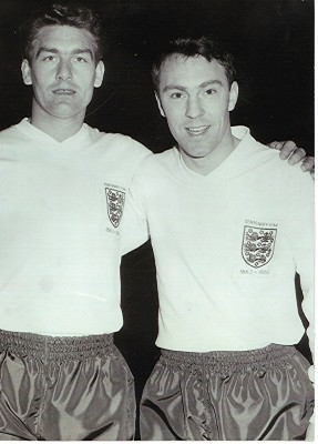 Ron Henry and Jimmy Greaves