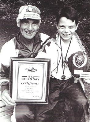 Ron Henry & Ronnie Henry Jnr   Geoff Webb