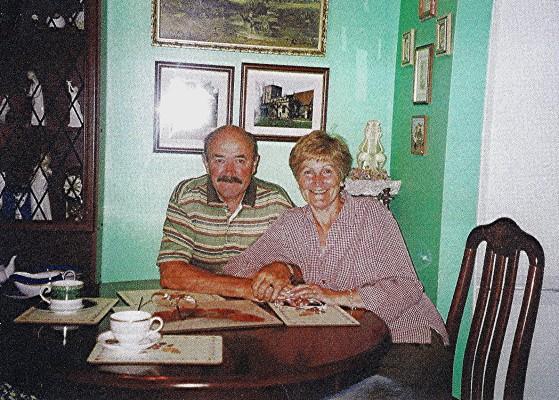 Robert & Audrey Rough | Geoff Webb