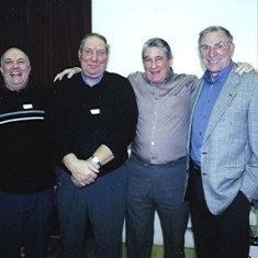 Left to right: Walter Rough, Roy Flitton, Tony Dimmock, Mick Chatfield. | Geoff Webb