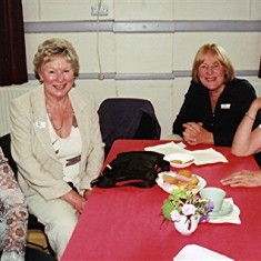 (Left to right): Janet Rough, Maud Henry, Jean Stratton, Beryl Hedges. | Geoff Webb