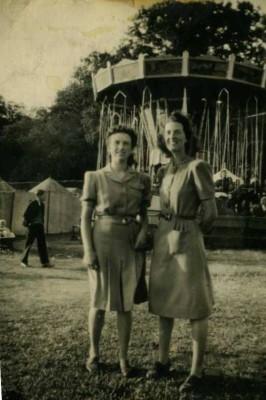 Doris Gramlick & Kitty Coyman