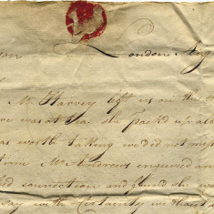 Extract from a letter concerning a servant who absconded from her master in 1804. He complains to the workhouse that...