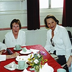 Left to right: Kath Brown, Yvonne Anderson, Toni Rus, Margaret Brown. | Geoff Webb