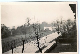 View of Carpenders Avenue from my bedroom window at 49 Carpenders Ave. 1940 | Arthur Hall