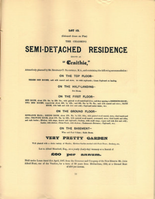 Semi detached residence - [DE/L/5077] | Hertfordshire Archives and Local Studies