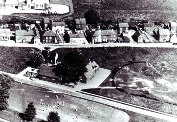 Aerial view of East Common in the early 1950's | Geoff Webb