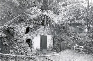 The entrance to the grotto | Wyn Hughes, Hertfordshire Archives and Local Studies