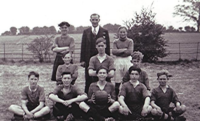 Sea Cadet's Football Team, 1948 | Geoff Webb