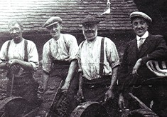 The Sibley Blacksmiths with Harold Anstee