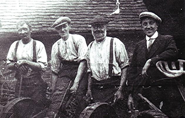 Redbourn High Street blacksmiths | Geoff Webb