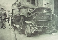 Model T Ford Accident