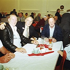 Left to right: Maurice 'Mo' Smith, Terry & Mick Day, Clifford Coots, Dick Archer. | Geoff Webb