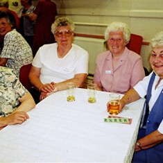 Left to right: Kath Smith, Janet and Beryl Batchelor, Nita Riley | Geoff Webb