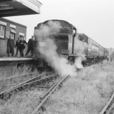 'Special' train visiting Rickmansworth in June 1958. | © Michael Covey-Crump