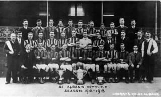 St Albans City FC 1912-13 | www.sacfc.co.uk