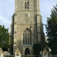 St Augustine's Church, Broxbourne, from Churchfields | Nicholas Blatchley