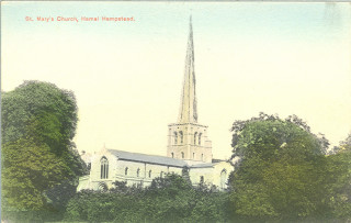 St Mary's, Hemel Hempstead, pre 1919 | Hertfordshire Archives & Local Studies