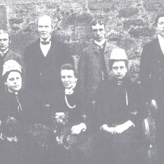 Staff at Pendley Manor, 1888 | Hertfordshire Archives and Local Studies